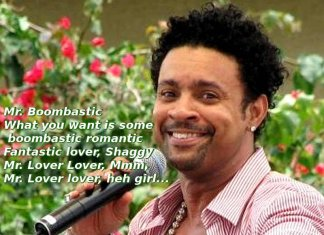 Boombastic di Shaggy storia, testo e video