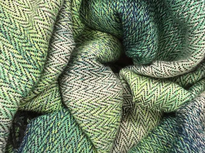 Tessuto ottenuto dalla lavorazione della canapa