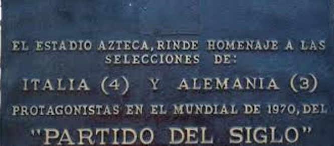 1970 Italia-Germania 4-3: La partita del secolo allo stadio Azteca di Città del Messico