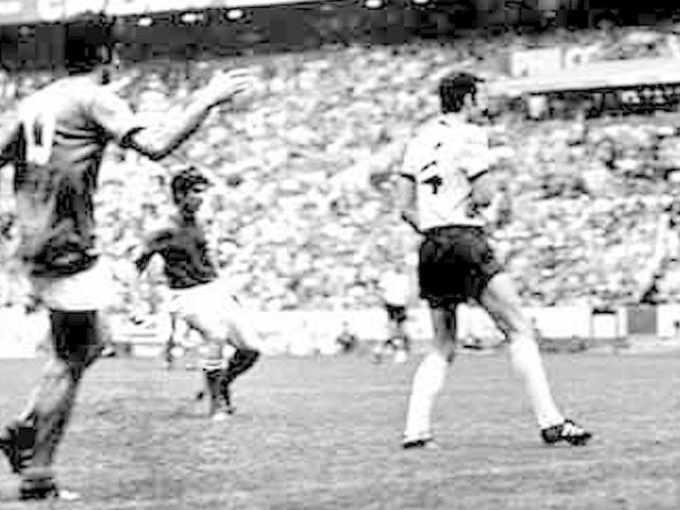 Il gol di Rivera per la vittoria Italia-Germania 4-3