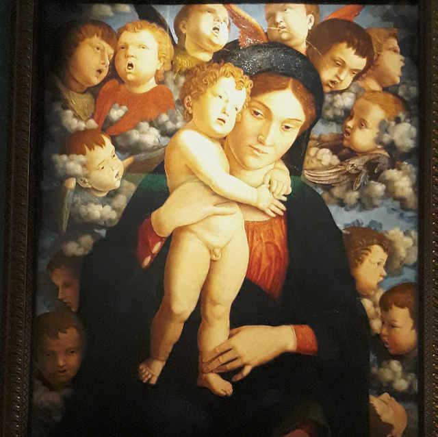 Mostra con opere di Mantegna Madonna dei Cherubini