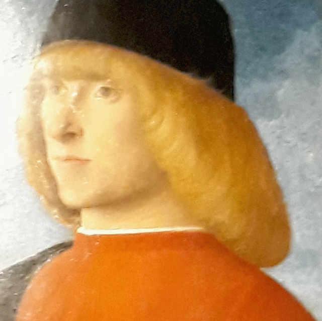 Il ritratto di giovane in visita senatoria di Giovanni Bellini