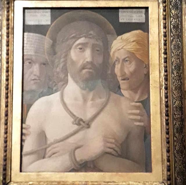 Ecce Homo di Andrea Mantegna