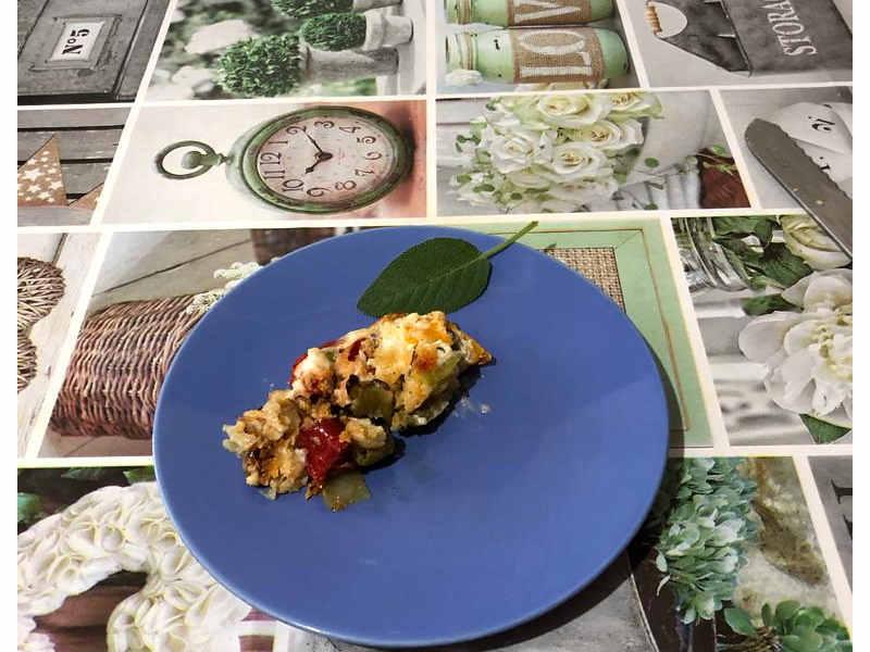 Ricetta dei  Peperoni cotti in forno gratinati