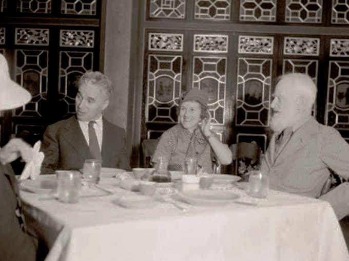 Charlie Chaplin a bordo della Arandora