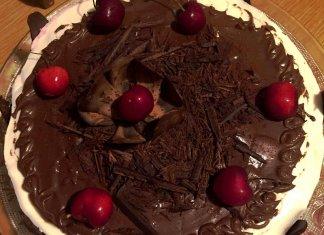 Torta Foresta Nera con 3 creme Senza Glutine e Senza Lievito golosissima