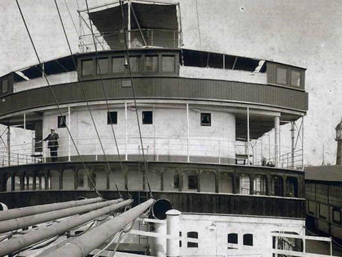 Il punto di comando della nave