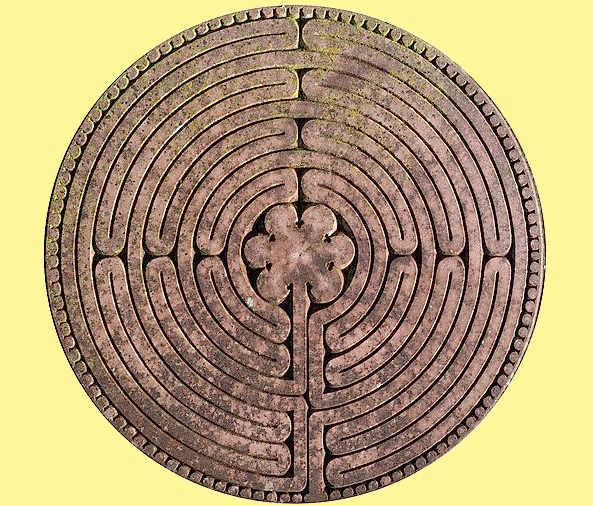 Le misure del labirinto nella cattedrale di Chartres