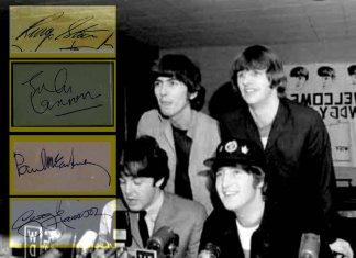 Le firme dei Beatles, analisi grafologica di un mito