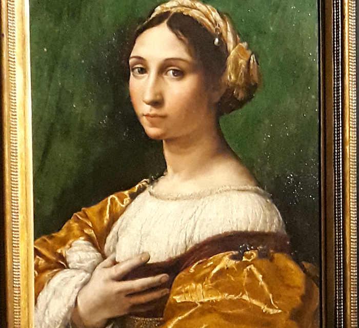 Sala 6 – Poesia e pittura: L'ideale femminile.