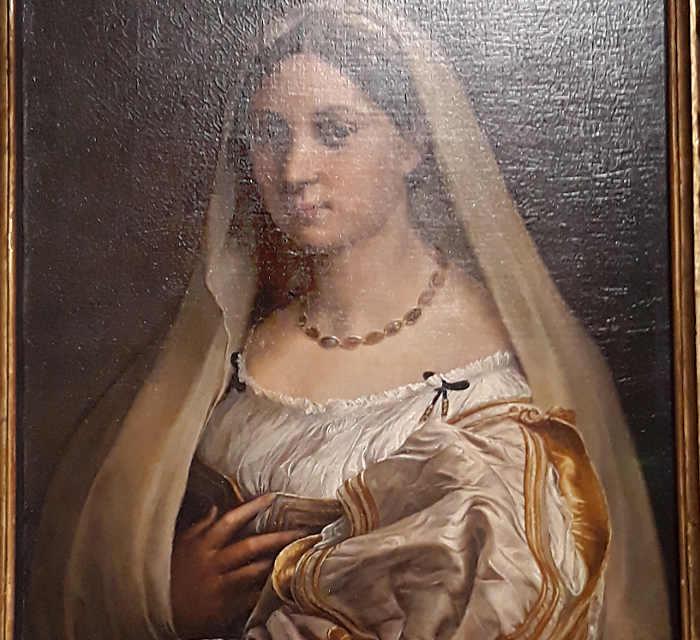 La mostra di Raffaello Sanzio La Velata