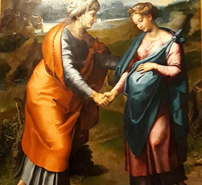 La mostra di Raffaello Sanzio, sala 4