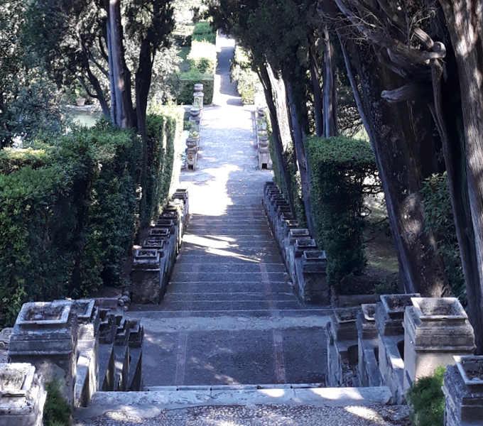 Particolare del giardino di Villa d'Este 2
