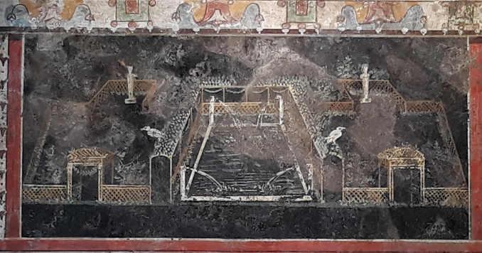 Quadri e affreschi a Villa d'Este a Tivoli 2