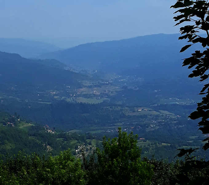 Panorama dell'Alta Langa