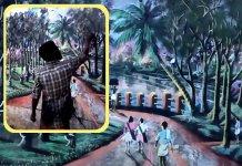 L'artista senzatetto che usa colori naturali per realizzare bellissimi murales