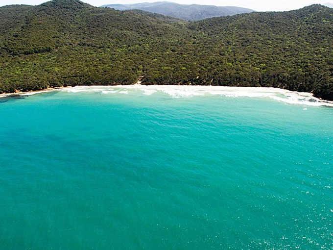 Spiaggia di Cala Violina Grosseto