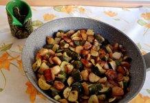 Zucchine e patate in padella contorno semplice