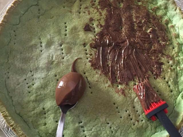 Crostata gelo d'anguria senza glutine