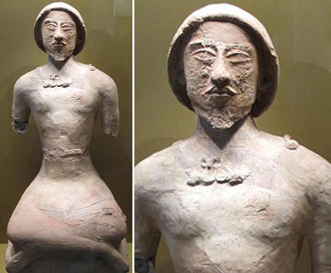 statuetta 4 Corasmia Koi Krylgan Kala