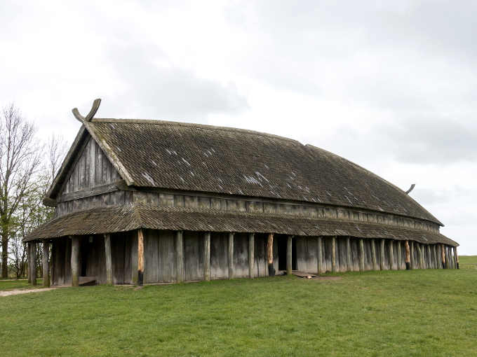 Edificio vichingo (casa lunga)