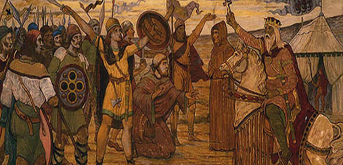 Ard-Rí Brian Boru contro i vichinghi