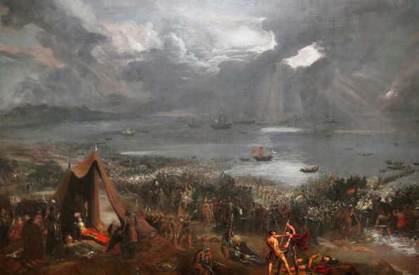 I Vichinghi e i celti e la battaglia a Clontarf