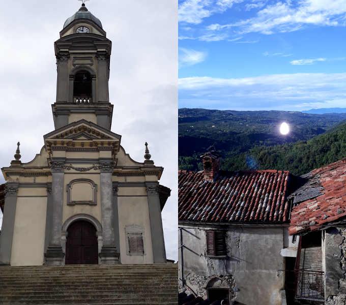 11 Roddino chiesa e paesaggio