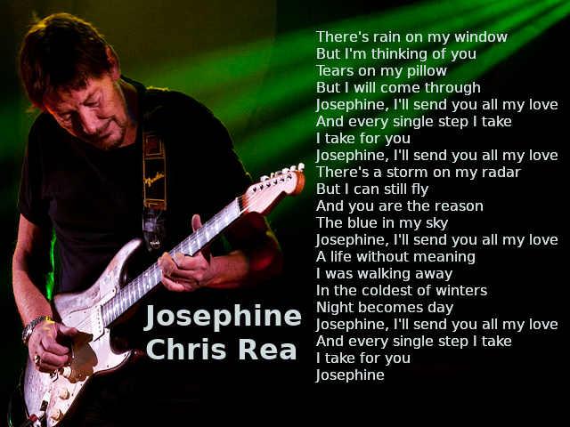 Testo di Josephine di Chris Rea