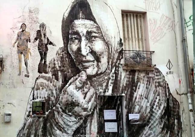 Murales a Parigi Alaniz