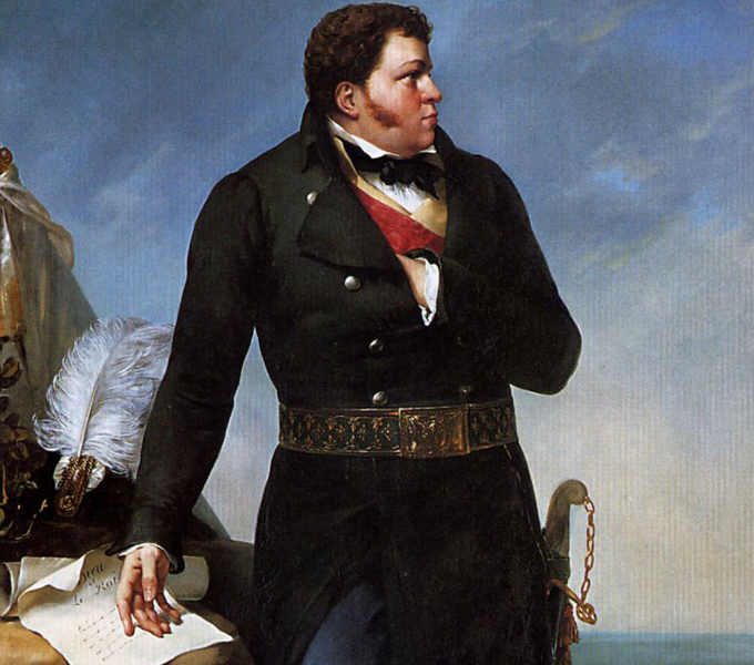 Georges Cadoudal, dipinto di Paul Amable Coutan, 1827.