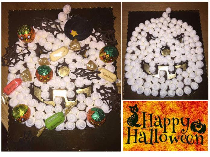 Cream Tart di Halloween forma di Zucca senza Glutine