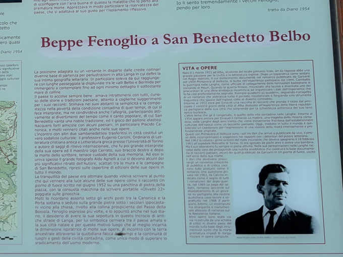 12 Gli scrittori delle Langhe: San Benedetto Belbo e Beppe Fenoglio