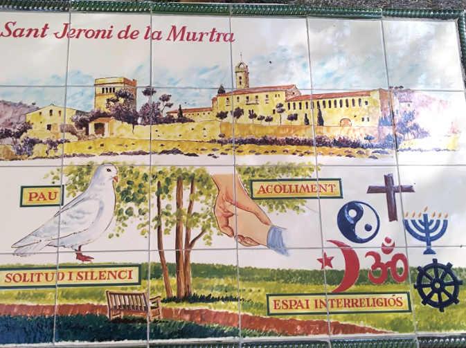 Il Monastero di Sant Jeroni de la Murtra di Badalona foto 2