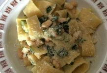 Calamarata con zucchine e gamberetti senza glutine ricetta buonissima e semplice
