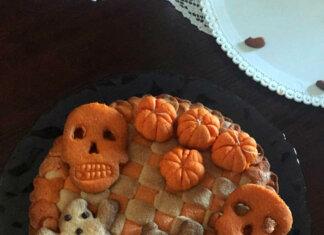 Crostata intreccio Halloween senza Glutine con Nutella
