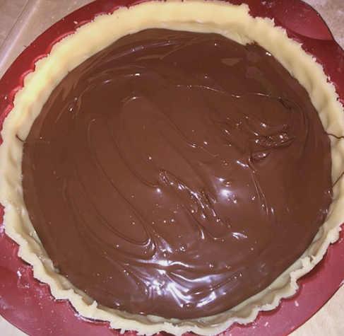 Fondo crostata senza glutine  con Nutella