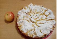 Torta di mele con crema pasticcera senza burro ricetta semplice e buona