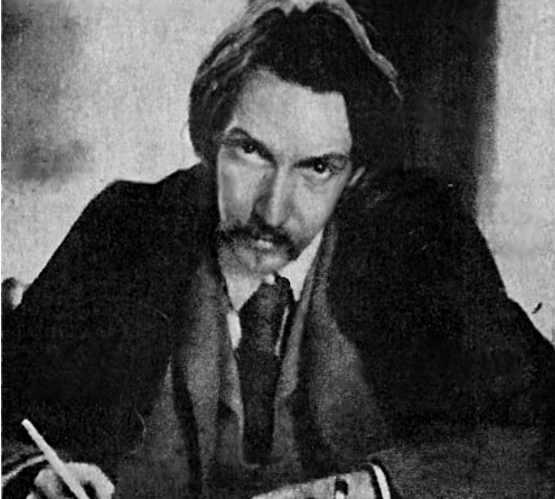 Lo scrittore Robert Louis Stevenson