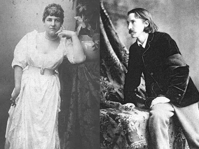 Fanny Osbourne e Robert Louis Stevenson