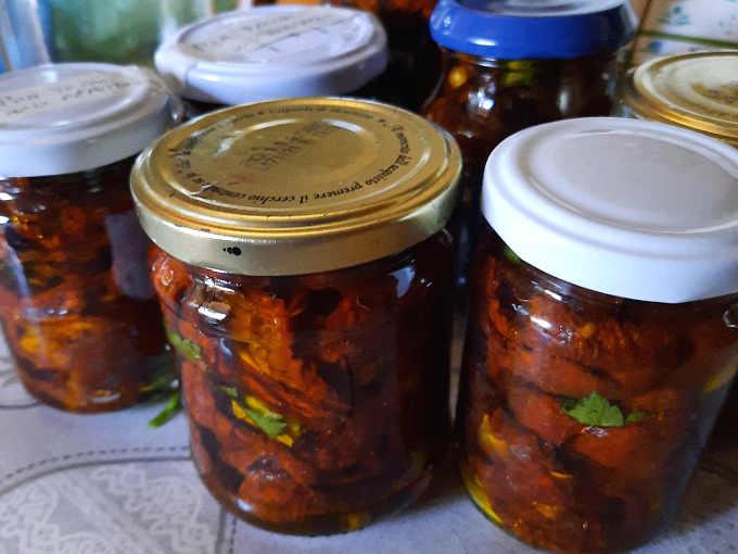 2 Pomodori secchi sott'olio ricetta buonissima