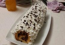 Rotolo alla Nutella e mandorle ricetta senza Glutine