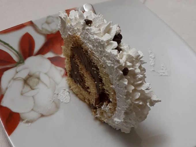 2Rotolo alla Nutella e mandorle ricetta senza Glutine
