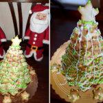 Albero di Natale in pasta frolla senza glutine