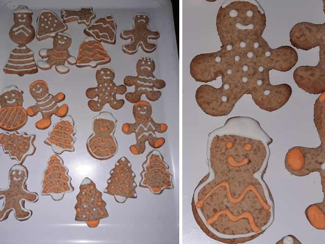 2 Biscotti Gingerbread (Pan di zenzero) Ricetta senza glutine