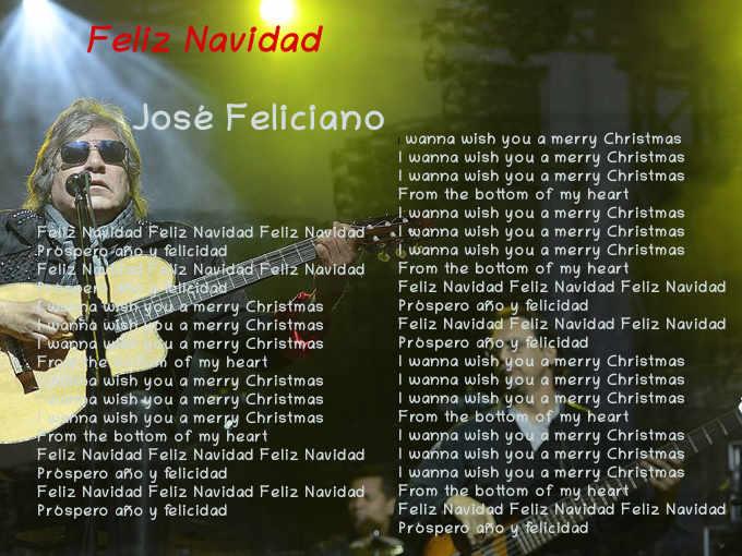50 anni Testo di Feliz Navidad di José Feliciano