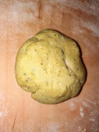 pasta frolla salata al pesto senza glutine