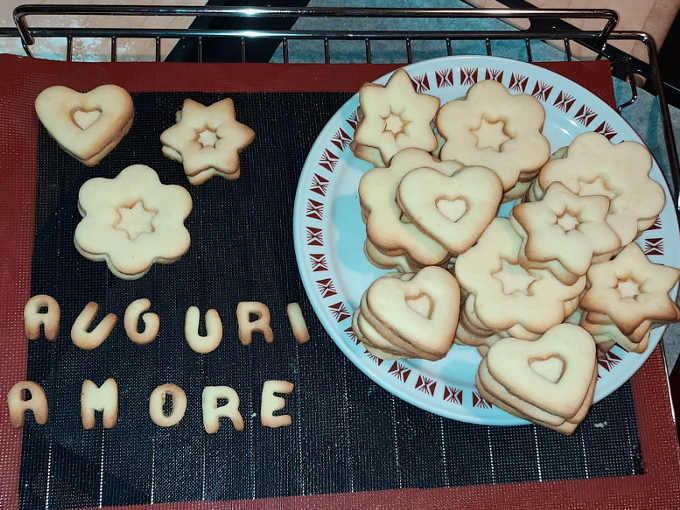 Biscotti sfornati senza glutine