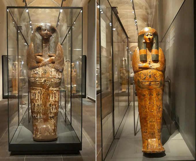 19 Museo Egizio di Torino Galleria dei Sarcofagi