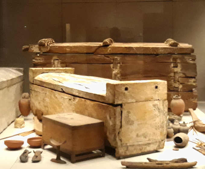 5 Museo Egizio di Torino tomba degli Ignoti